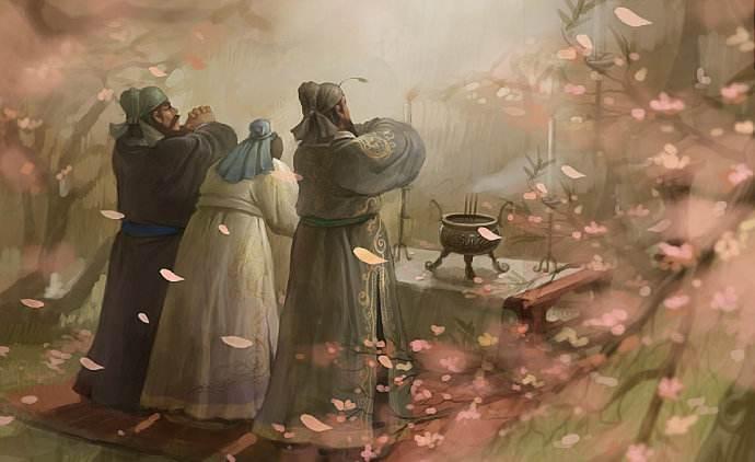 """刘关张""""桃园结义"""":中华文明尚义渊远流长的象征 文化观点 第1张"""