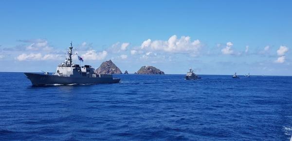 原创独岛附近军演,争议非常大,韩国依然高调举行
