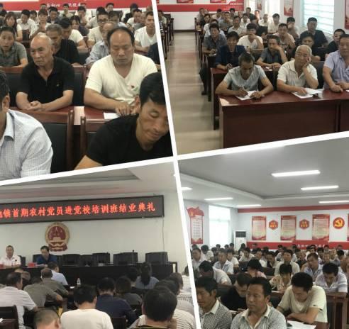 2019年天池镇农村党员进党校首期培训班结业啦!