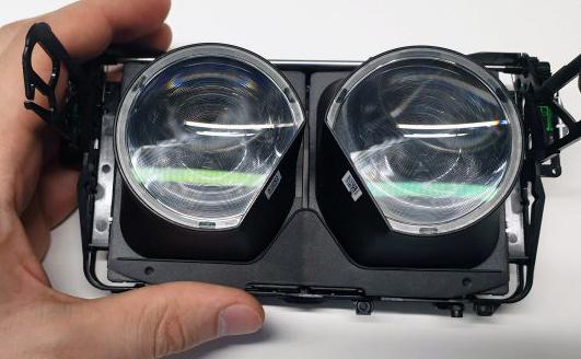 Valve Index拆解,一睹双晶光学元件和内部构造复杂性