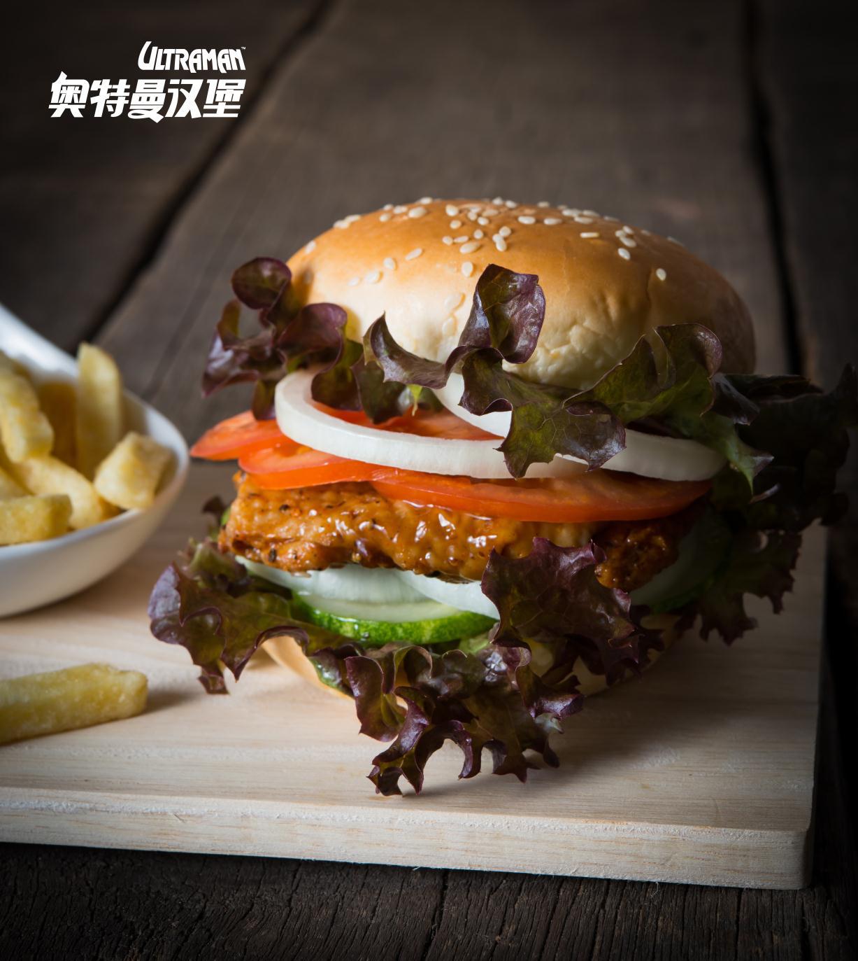 奥特曼汉堡:《舌尖上的上海》,为你揭开来自M78星云的美味