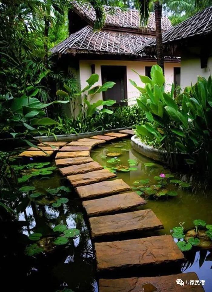 庭院必备创意小径,花园小路原来可以这么美