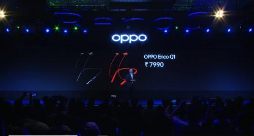 印度定价约799元!OPPO首款无线降噪耳机发布