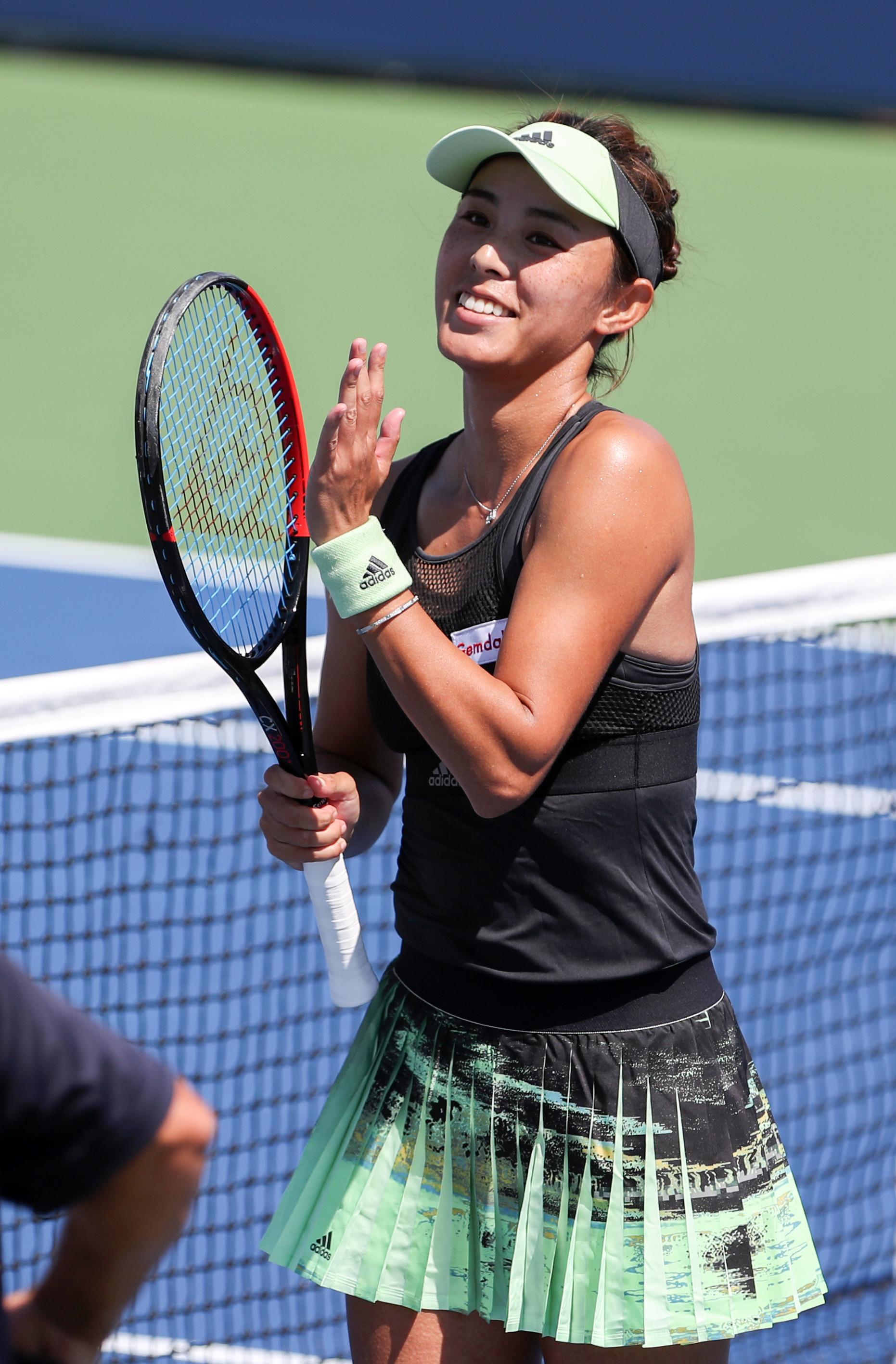 「新华社」网球——美网:王蔷晋级女单第三轮