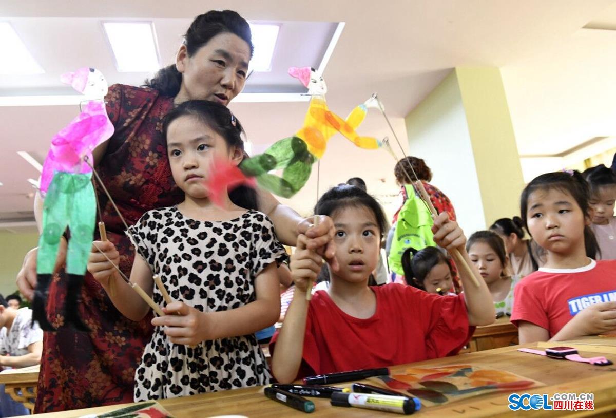 锦江区妇女联合会_皮影戏小小传承人公益课堂在成都开课_活动