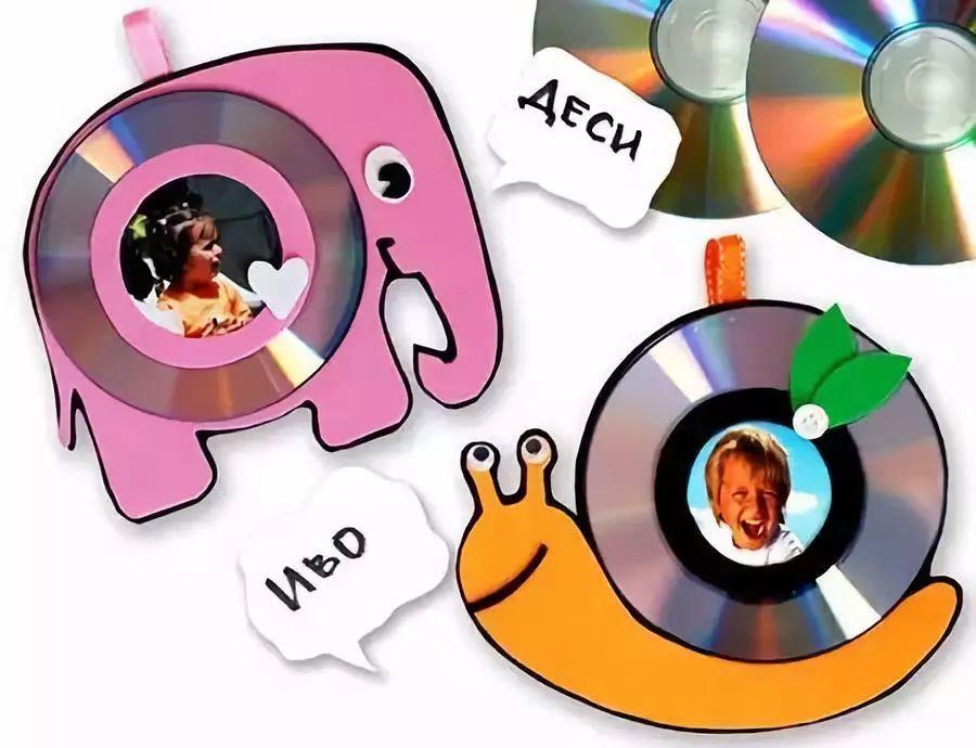 【亲子手工】40款幼儿园废旧cd创意手工,美到爆!
