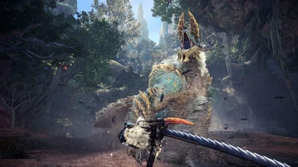 《怪物猎人世界》全新截图雷狼龙、溟波龙等魔物介绍