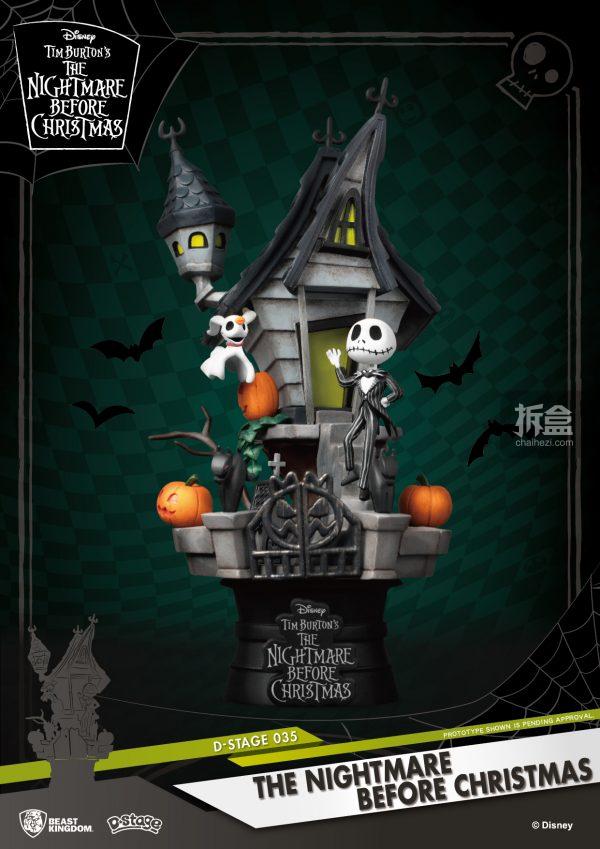 BeastKingdom野兽王国梦精选DS-035圣诞夜惊魂