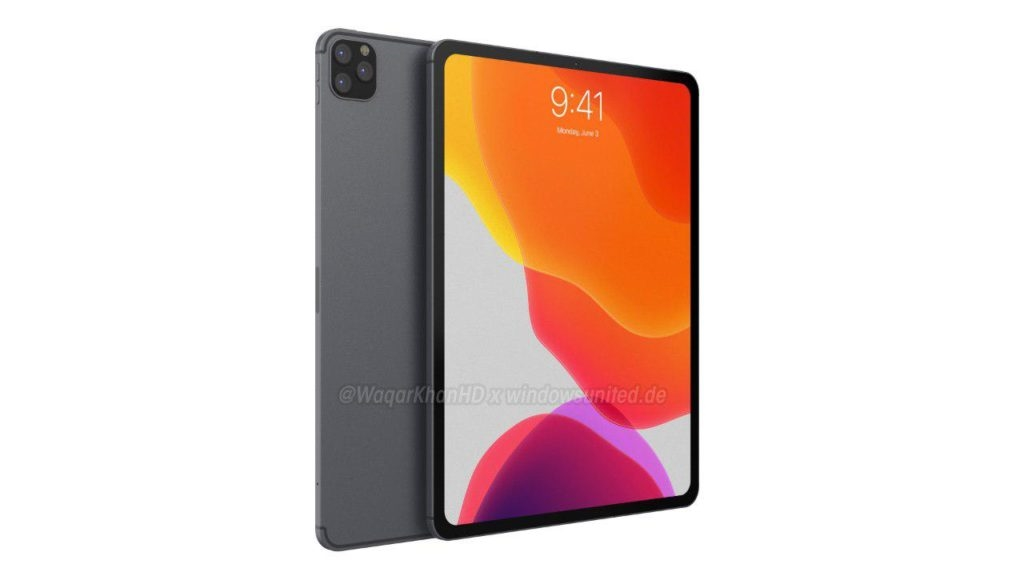 苹果入神华为?iPad Pro 2019暴光:后置浴霸三摄!