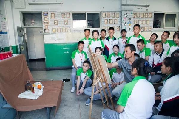 张家口市职教中心开展技能强化训练活动