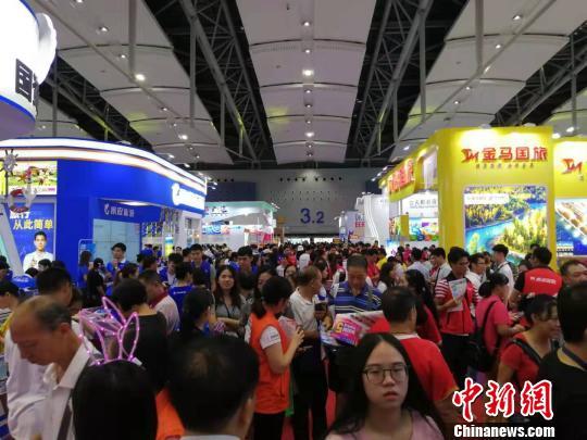 2019广东国际旅游产业博览会在广州开幕
