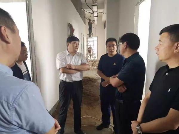 基层 | 绥芬河市常务副市长李兴国带队检查绥芬河专职消防队建设情况