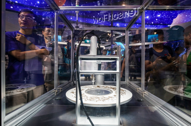 炫酷AI产品齐聚人工智能大会,小罐茶很吸睛