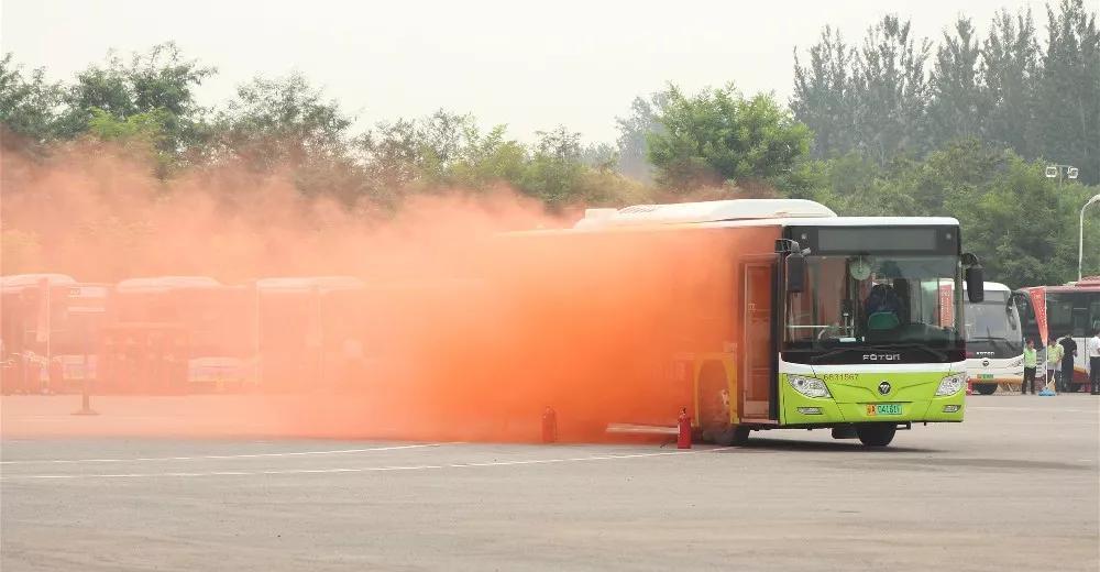 天安财险副总裁马淑伟受邀参加北京公交集团反恐应急演练大会插图(2)