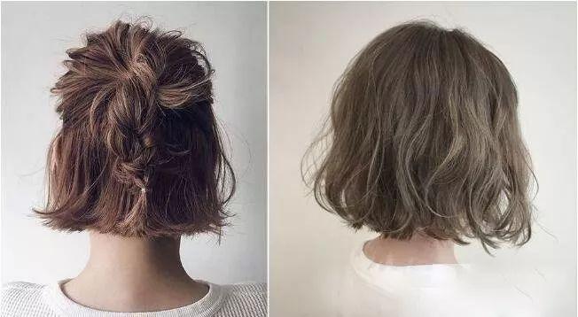 中短发烫发发型 | 空气感的蓬松短发适合你!_造型图片