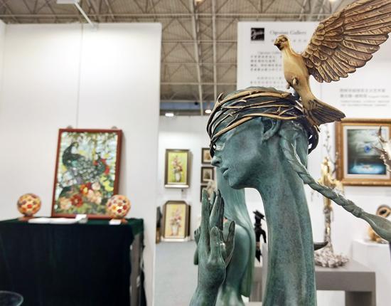 2019北京艺博会国展开幕汇聚列宾达利作品