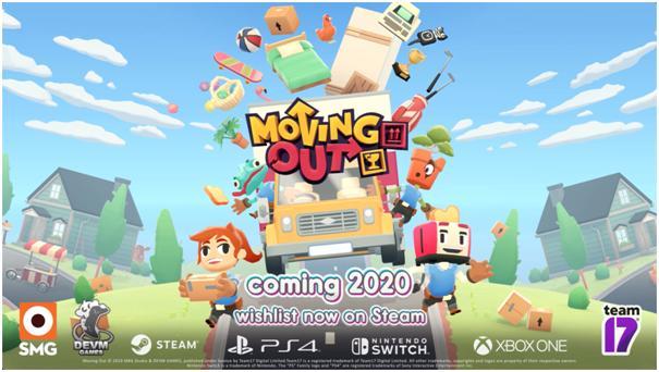 《胡闹厨房》发行商TEAM17再推新作  《胡闹搬家Moving Out》即将登陆全平台