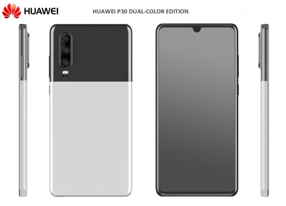 """华为P30下周或推出新格式:""""熊猫色""""酷似谷歌Pixel"""