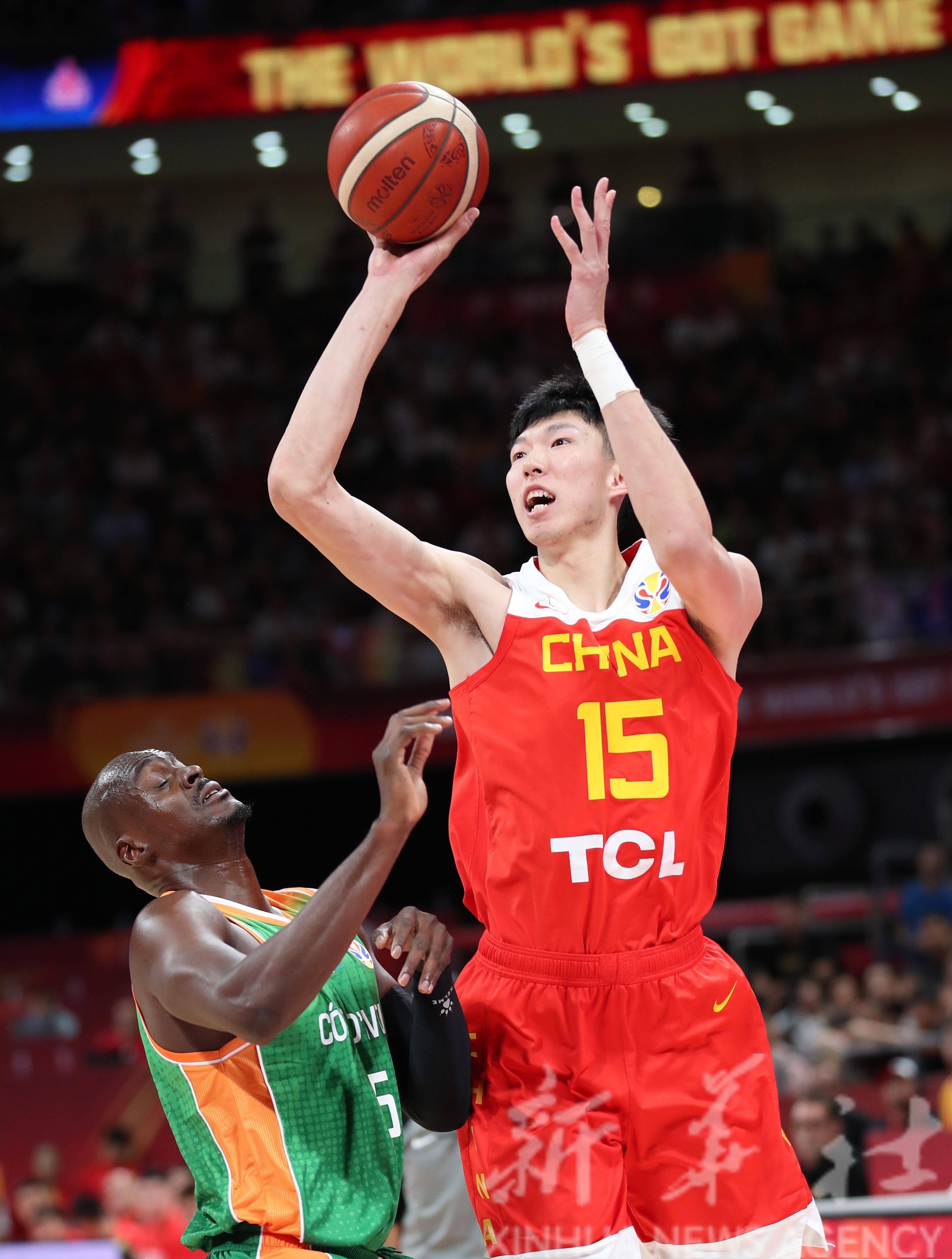 中国篮球_篮球丨世界杯小组赛:中国队对阵科特迪瓦队_比赛