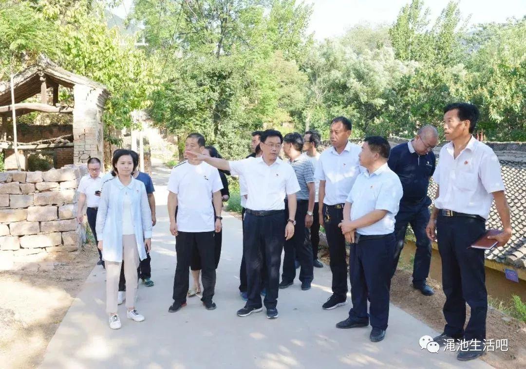 渑池县县委书记杨跃民到南村乡督导脱贫攻坚工作
