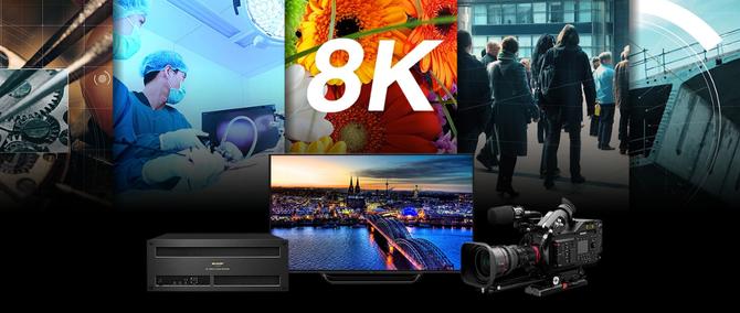 万物皆可5G!夏普将展出世界最大120英寸8KLCD电视