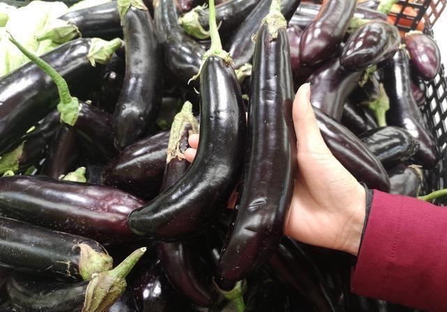 <b>买茄子,有人挑弯的有人选直的?菜农大妈:别瞎挑,不懂就白吃了</b>