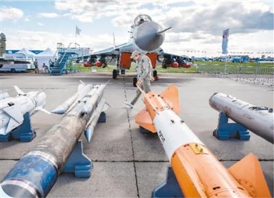 莫斯科国际航展开幕