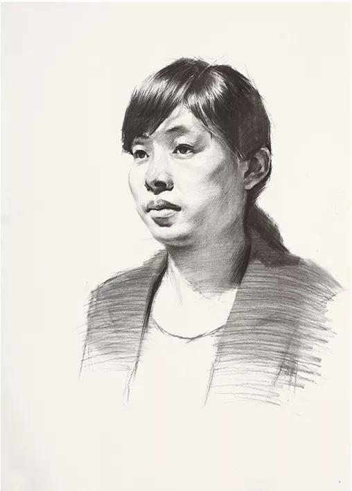 杭州素描-教程头像导师林新杰状元将军高分解析-美术高考!画室v素描图片