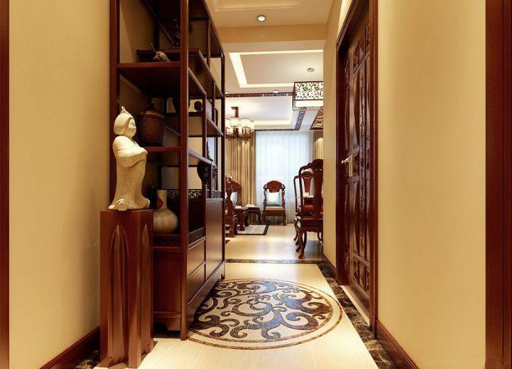 两口之家的新房,90㎡传统中式装修,效果真好