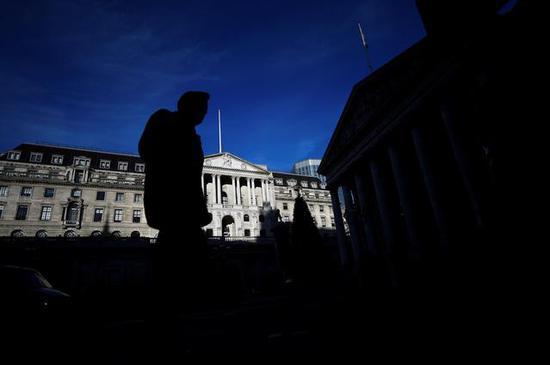 英國央行:英國退歐計劃降低了英國企業的生產率