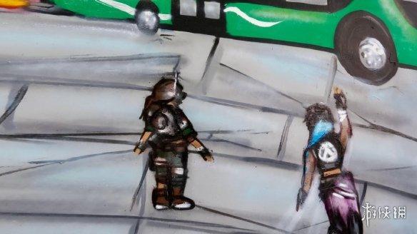 《无主之地3》Logo惊现各地街头涂鸦呈现躁事者头像