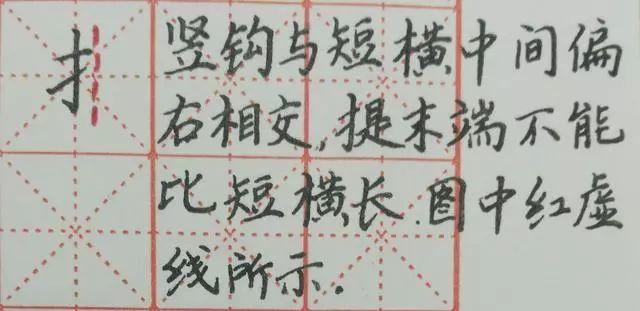 学会这几种偏旁部首的写法,很多字都能写好!