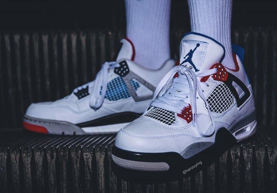"""上脚太帅!Air Jordan 4 """"What The"""" 全新上脚图来袭!"""