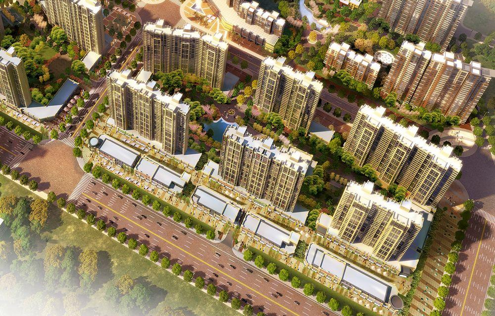 浭阳新城规划图