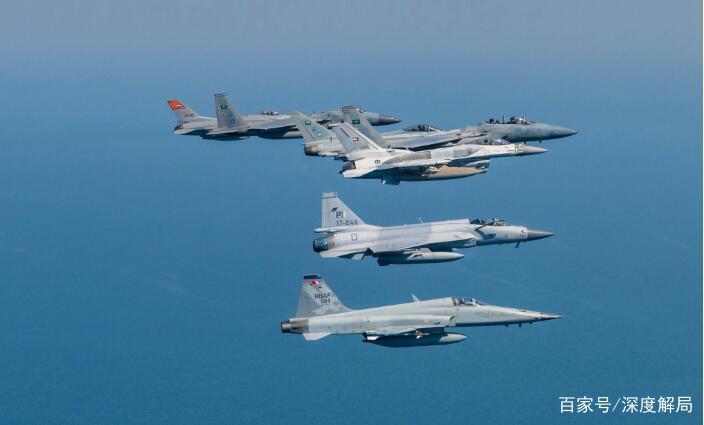 巴铁大批战机飞抵中国西北某地,完成一项特殊使命,不针对第三方