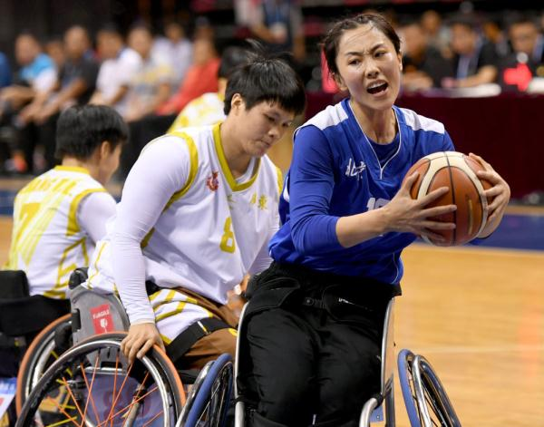 殘運會丨輪椅籃球:廣東女隊奪冠