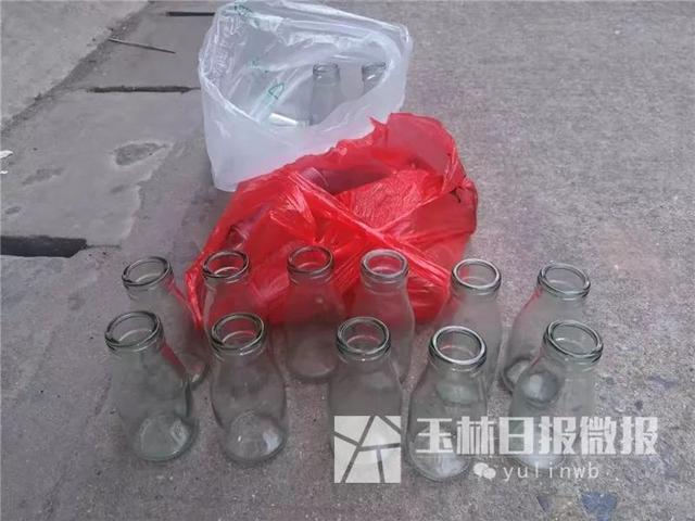 """""""酒干倘卖无""""的吆喝消失了,玉林市区的玻璃瓶子难以回收"""
