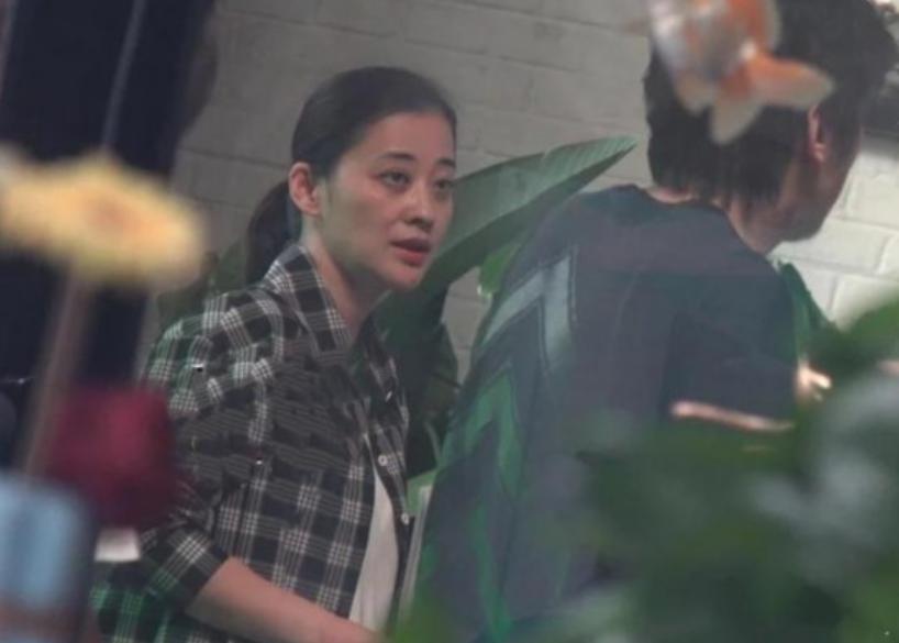 44岁梅婷近照曝光,素颜出镜黑眼圈明显,网友直呼:撞脸60岁倪萍