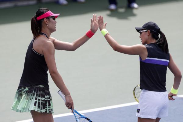 網球丨美網:鄭賽賽/段瑩瑩晉級下一輪