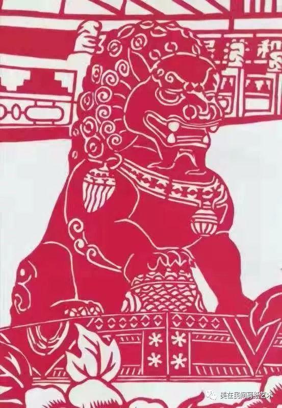 《中国梦》赏析——赵鲜红剪纸作品