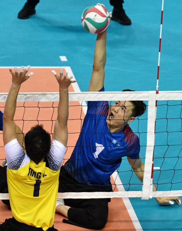 殘運會 坐式排球:浙江隊和上海隊分獲男女組奪冠