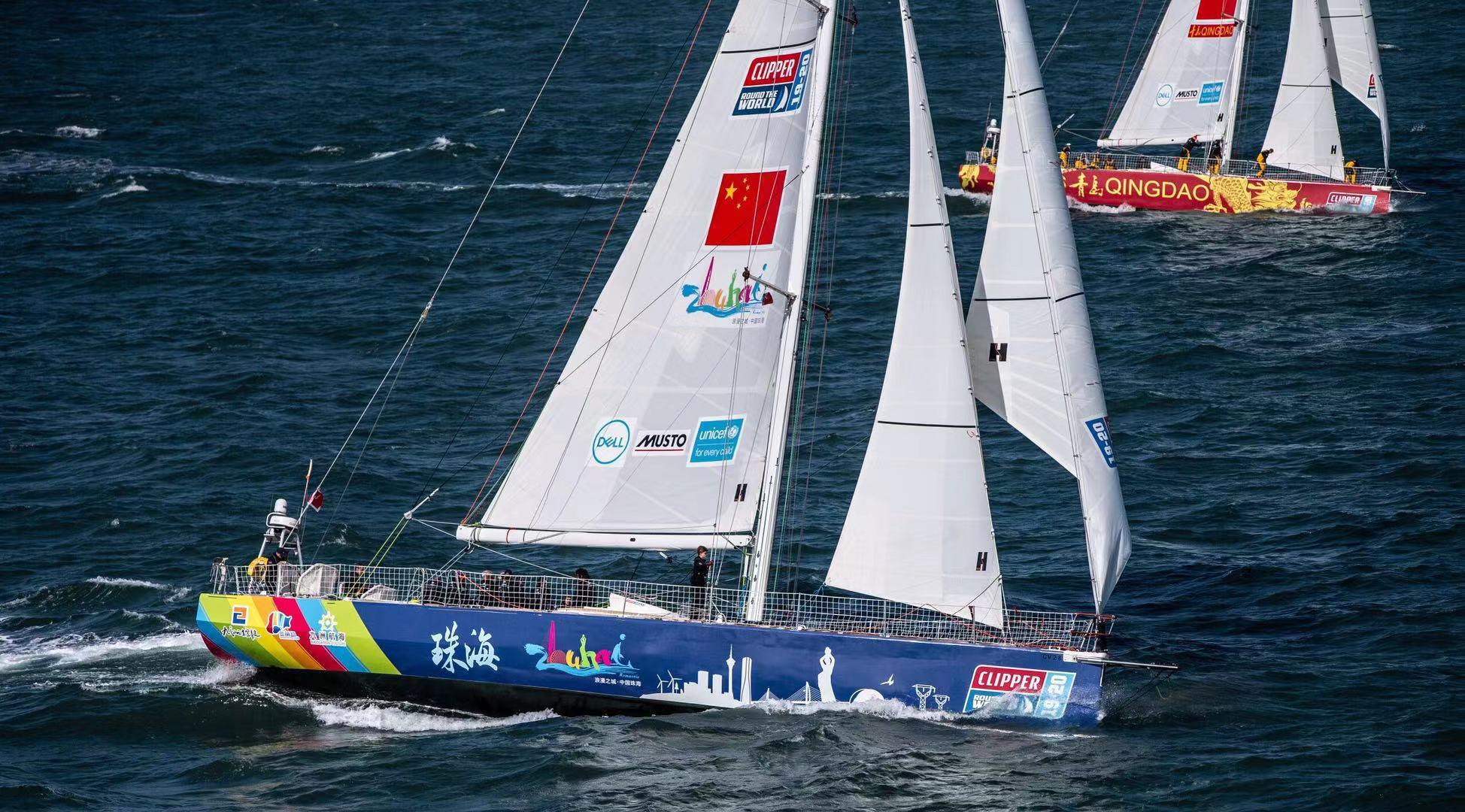 转载:克利伯环球帆船赛于9月1日举行起航仪式三艘中国船整装待发