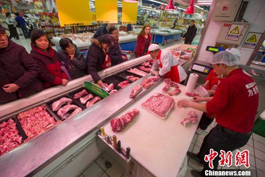 廣西南寧出臺干預政策 指定農貿市場限量限價銷售豬肉