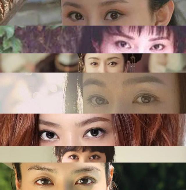 """黄晓明绯闻女友们的眼睛长得都很像,也是某种程度上的""""专一""""呢"""