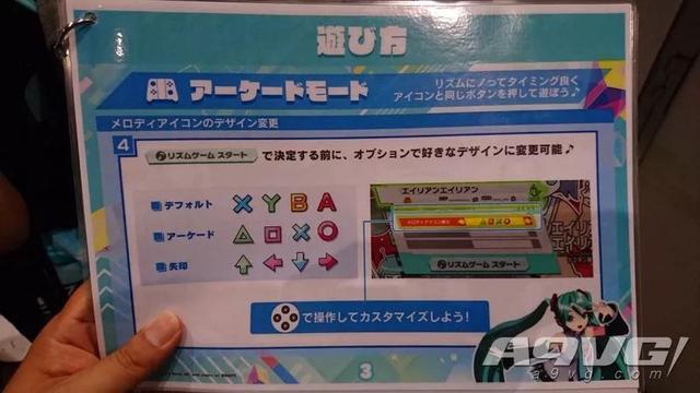 《初音未来 歌姬计划 MEGA39'》支持使用PS风格图标