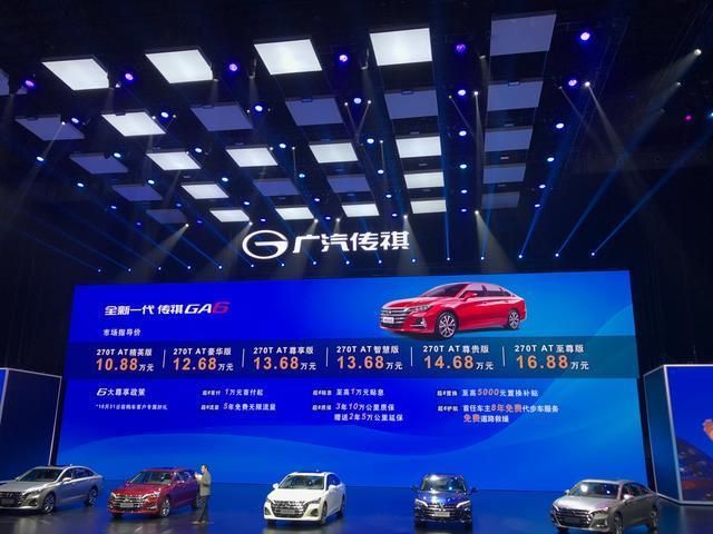 觀察:高不成、低不就,傳祺GA6恐難撼動合資車!