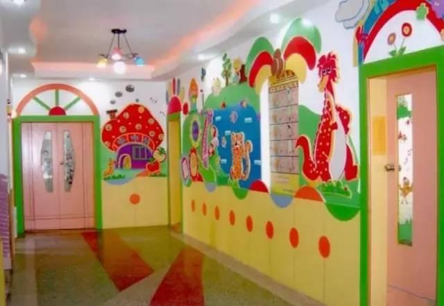 幼儿园走廊环境布置二图片