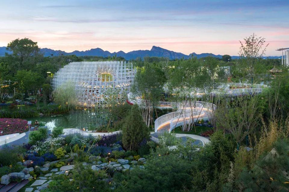 走进2019华东北京世园中国园/华建集团上海建筑设计研究总院室内设计出来怎么办图片