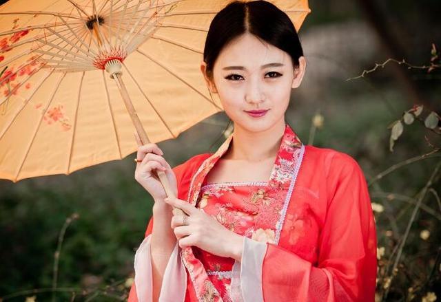 仿古颜色章台杨柳裙
