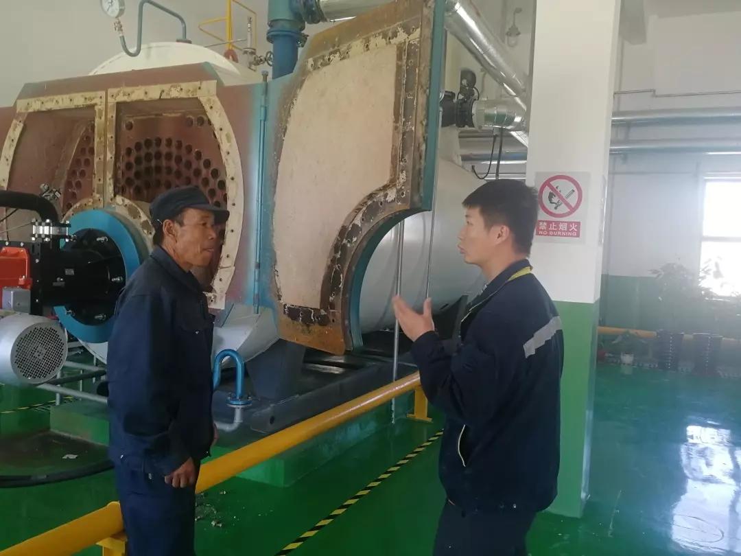格尔木机场分公司机场管理部提前完成天然气锅炉检测工作